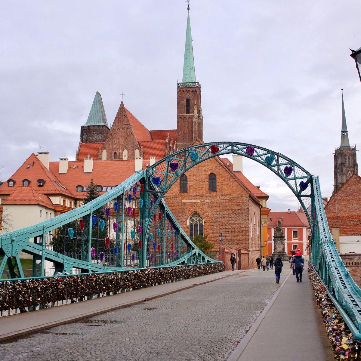 """""""Bộ sưu tập"""" của những cây cầu ở Wrocław"""