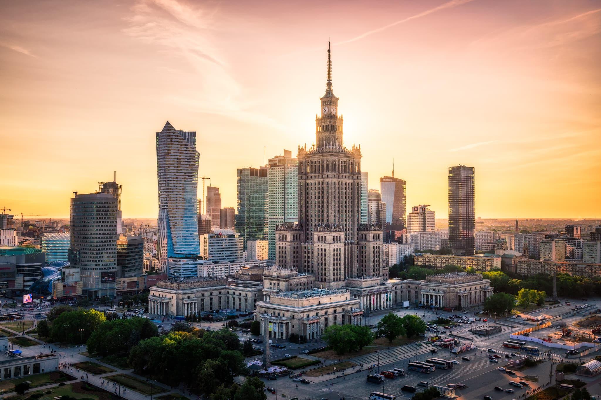 Top 10 toà nhà chọc trời ở Warszawa (phần 1)