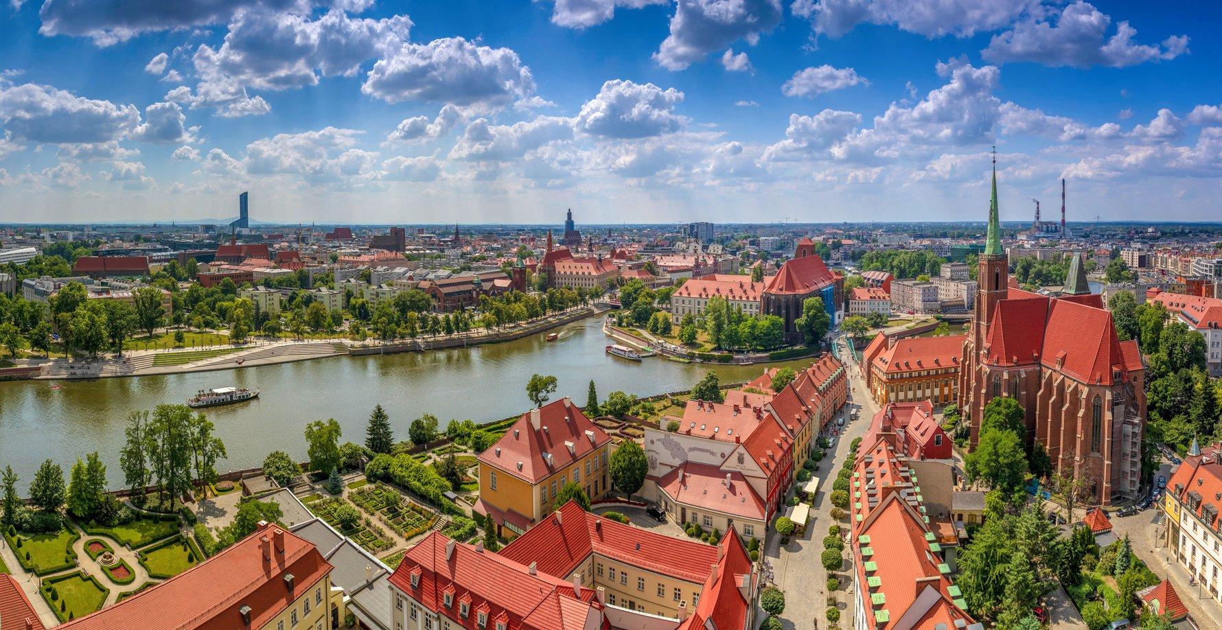"""Cụm không gian xanh cực """"Chill"""" ở Wrocław"""